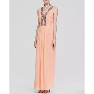 NEW Shoshanna Luna Embellished Trim Gown [SZ 2 ]